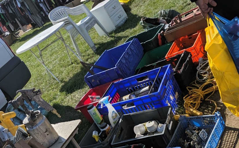 CarBoot with Pops… It's aDate.