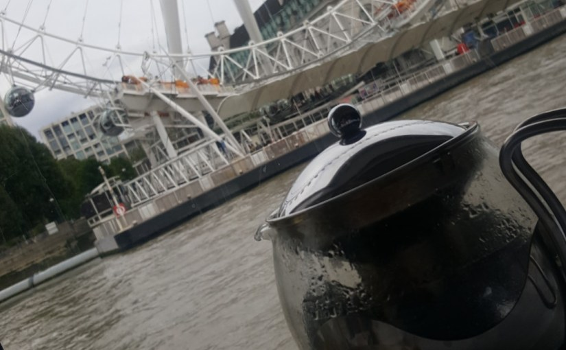 Bateaux London. Afternoon Tea on the RiverThames.