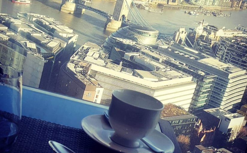 Afternoon Tea at The Shard.London.
