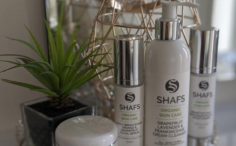 "{Collab} I tried out ""Shafs Beauty"" new Organic Skin CareRange…."