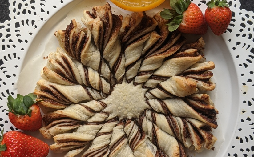 Nutella Star Pastry