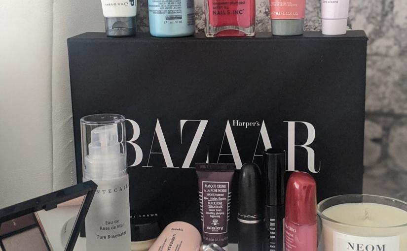 Lets take a Look Inside…Harpers Bazaar Beauty Box2020