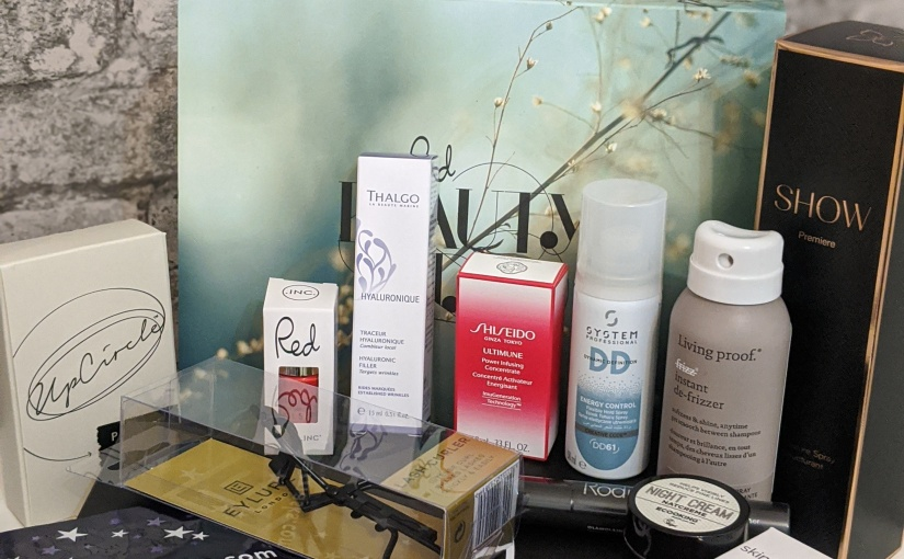 Lets take a Look inside ……The 'Red Beauty Edit Box'….plus *Giveaway*