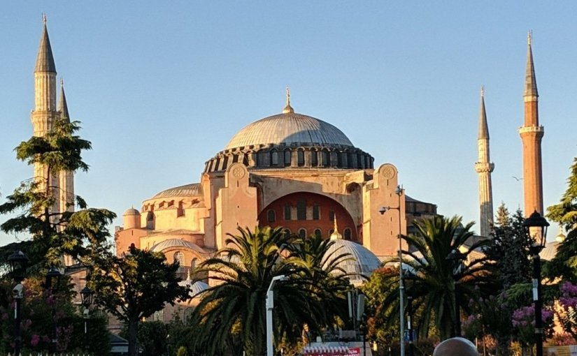 Istanbul Diaries, Day Two: Covid, Hagia Sophia, Eminunu, Eyup, TaksimSquare