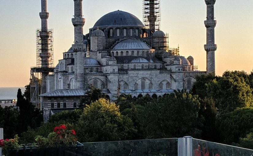 Istanbul Diaries. Day One: Covid, Hagia Sophia and The BlueMosque